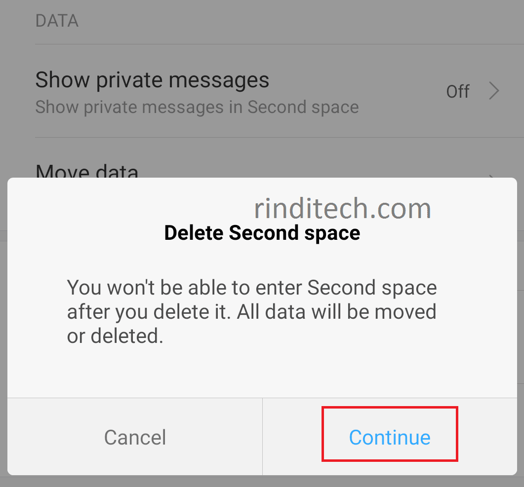 How To Delete Second Space Feature On Your Xiaomi Smartphone >