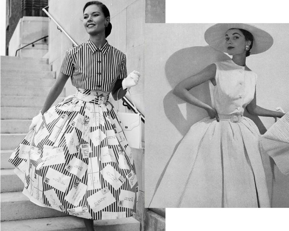 Entenda: como era a moda na década de 1950?