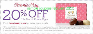 Fannie May coupons for february 2017