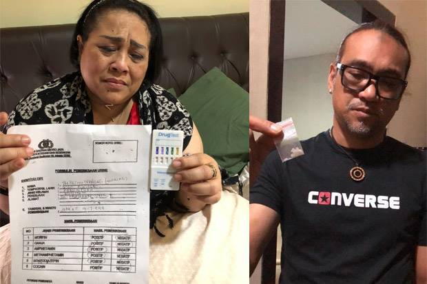 Nunung Dan Suami Ditangkap Atas Kasus Penayalagunaan Narkoba