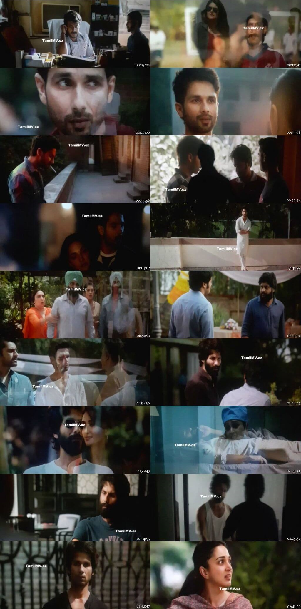 Screen Shot Of Kabir Singh 2019 300MB Pdvd Full Hindi Movie Watch Online Free Download