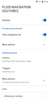 fluid navigation android
