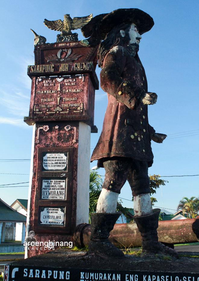 minawanua patung sarapung korengkeng tondano minahasa sulawesi utara