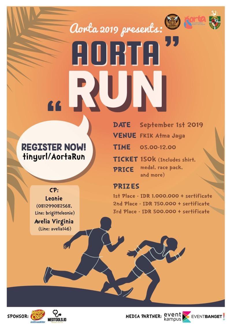 Aorta Run - Kwanza Run • 2019