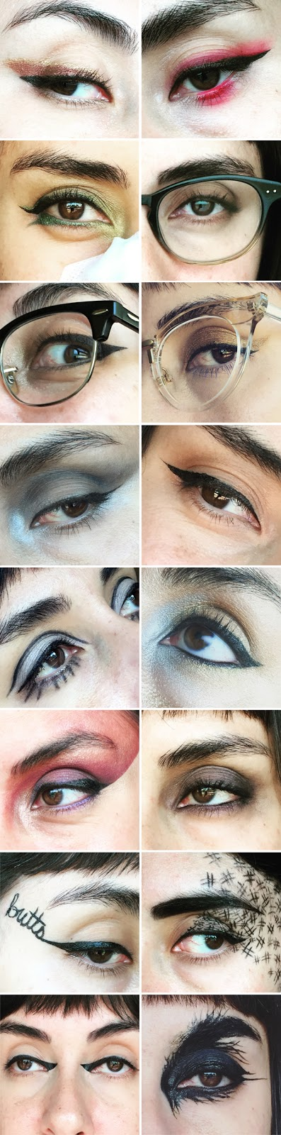 16 Eyeliner Looks :: 31 Days of Liquid Eyeliner