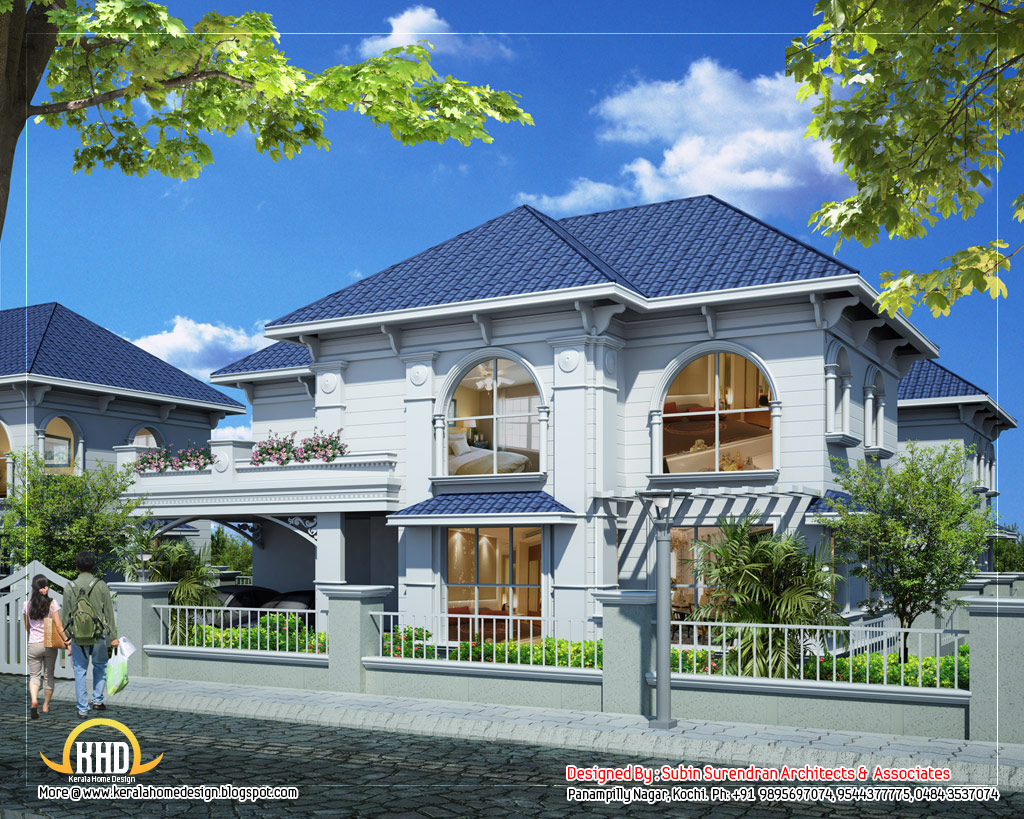 6 awesome dream homes plans kerala home design and floor for Plan for duplex house