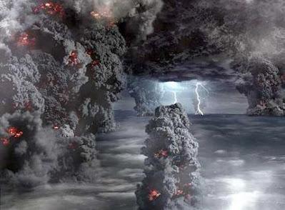 Explosión supervolcán