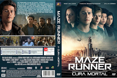 Filme Maze Runner - A Cura Mortal (Maze Runner - The Death Cure) DVD Capa