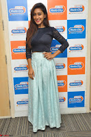 Shravya in skirt and tight top at Vana Villu Movie First Song launch at radio city 91.1 FM ~  Exclusive 18.JPG