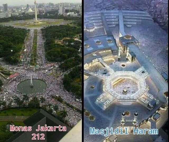 Luar Biasa Aksi 212 Mengguncang Dunia. Tapi,... Benar Nggak Sih Ini Islami?