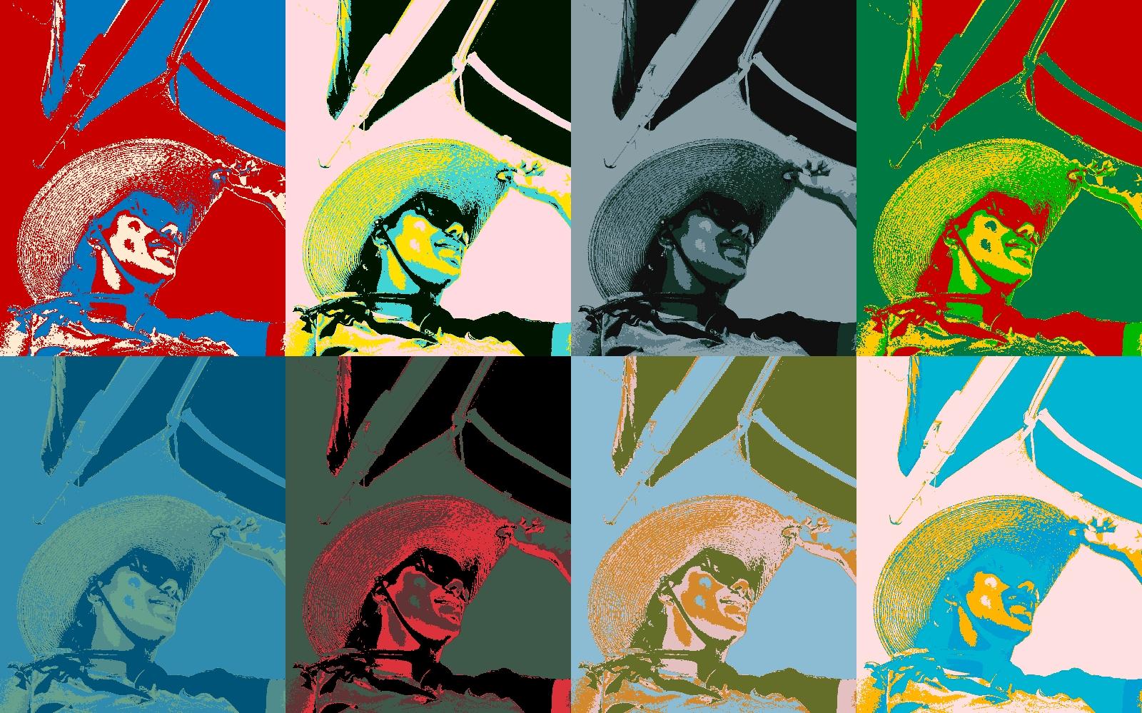 Download Gratis Gambar Wallpaper Pop Art Serta Efek Lainnya Untuk Desktop Monitor