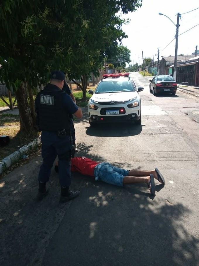 Guarda Municipal prende ladrão de moto em Cachoeirinha