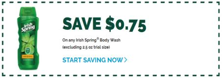 Irish Spring Body Wash CVS Deal 7-19-7-25