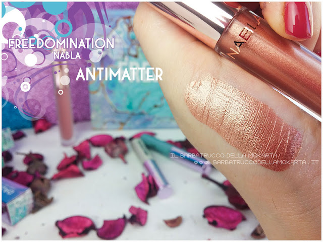 antimatter swatches  nabla cosmetics freedomination collection summer lipstick dreamy matte