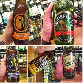Five craft beers to choose from