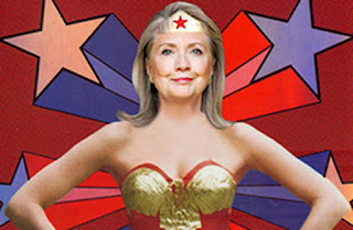Clinton Is Wonder Woman