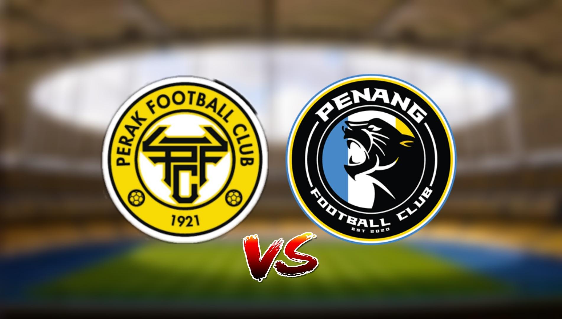 Live Streaming Penang FC vs Perak FC Liga Super 3.4.2021