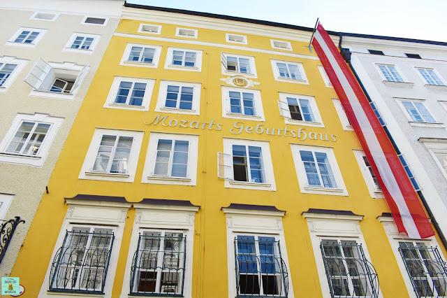 Casa Natal de Mozart en Salzburg