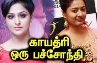 Remya Nambeesan supports Bigg Boss Oviya, says Gayathri is Chameleon