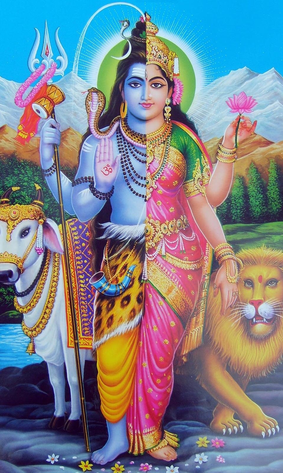 ardhanarishvara wallpaper
