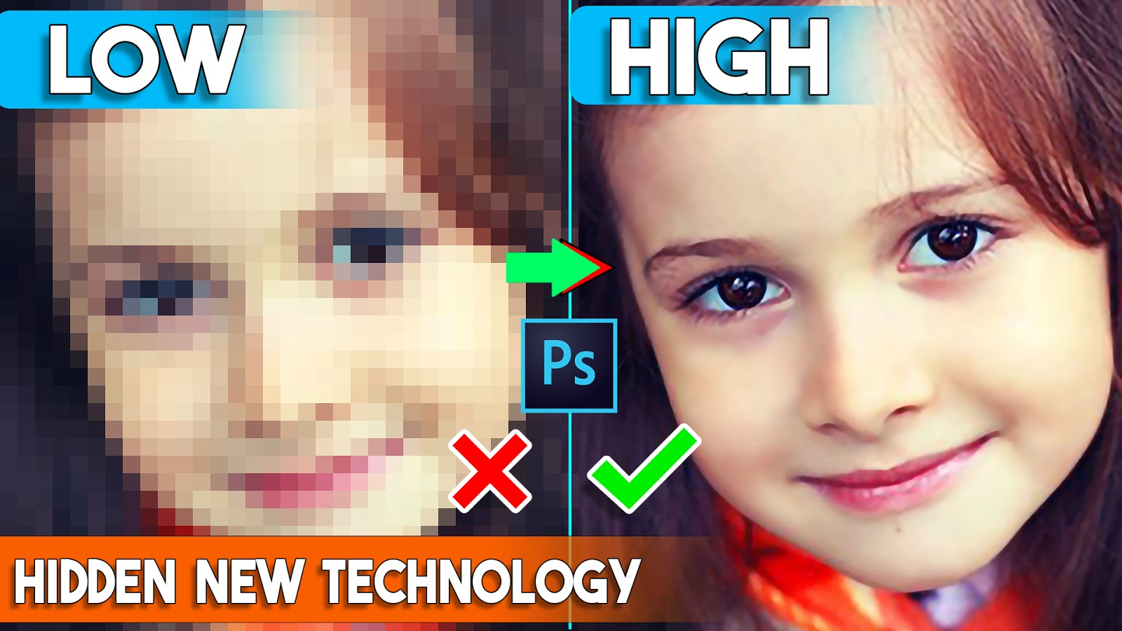 How to depixelate images and Convert into High-Quality Photos
