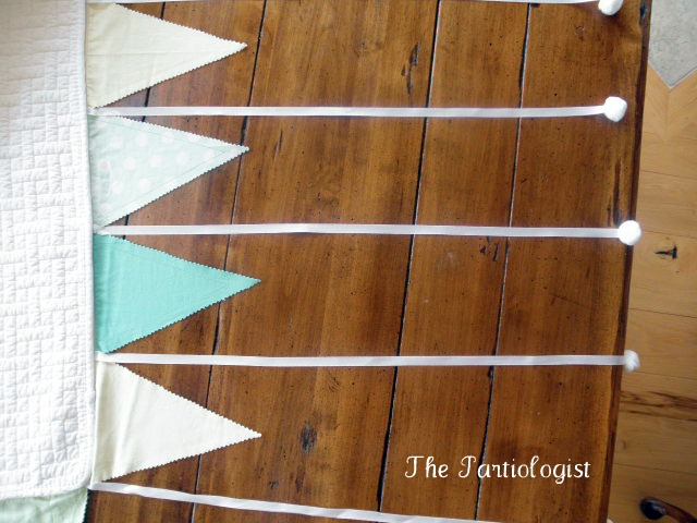 How to make a tablecloth  The Partiologist