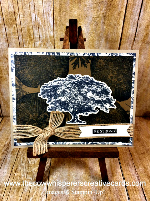 Card, Rooted in Nature, Nature Roots Framelits, Rustic