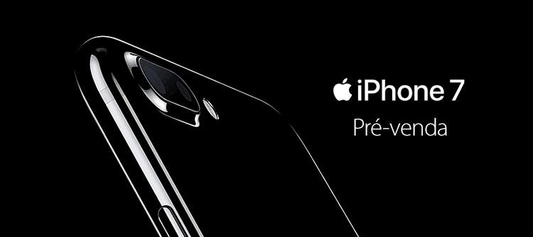Pré-venda do iPhone 7 no Brasil