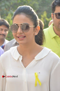 Actress Rakul Preet Singh at Endometriosis Awareness Walk at Apollo Cradle  0007.jpg