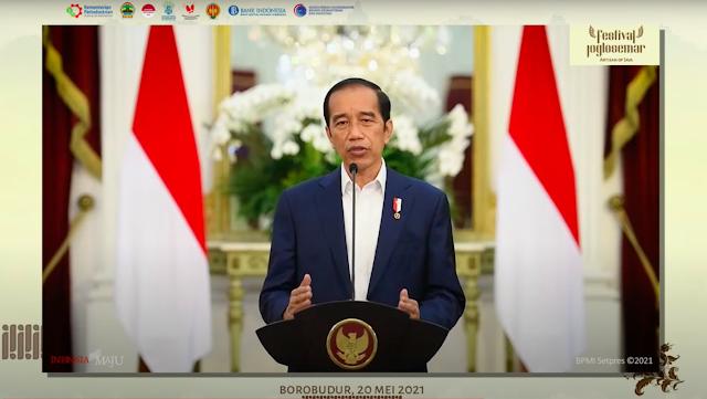 Presiden Jokowi: Beri Tempat Terbaik untuk Produk UMKM