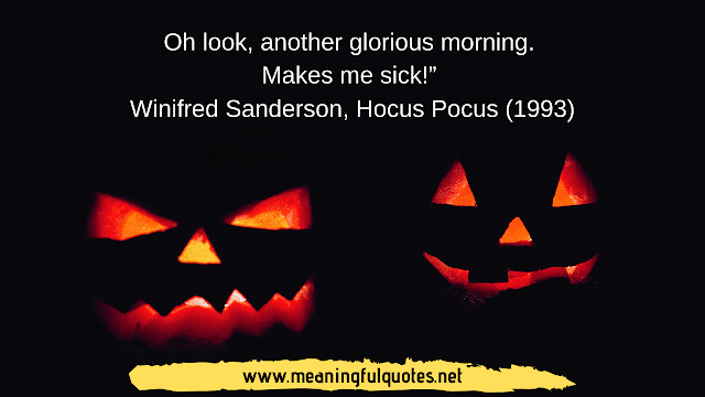 Famous Halloween Quotes and Sayings