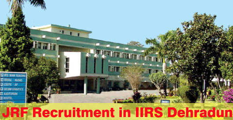 2016 Recruitment Junior Research Fellow JRF  in IIRS Dehradun-www.iirs.gov.in