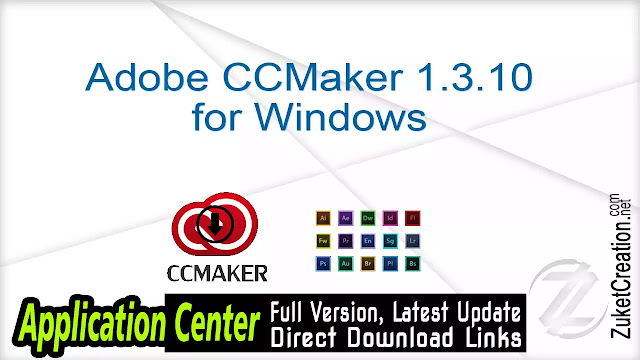 Adobe CCMaker 1.3.10 for Windows