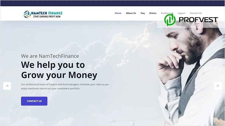 NamTech Finance обзор и отзывы HYIP-проекта