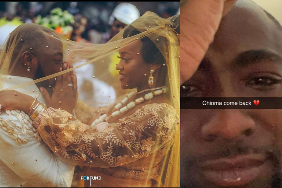 Chioma COME BACK!- Davido Drops His Pride As He Begs Chioma To Return (PHOTO) #Arewapublisize