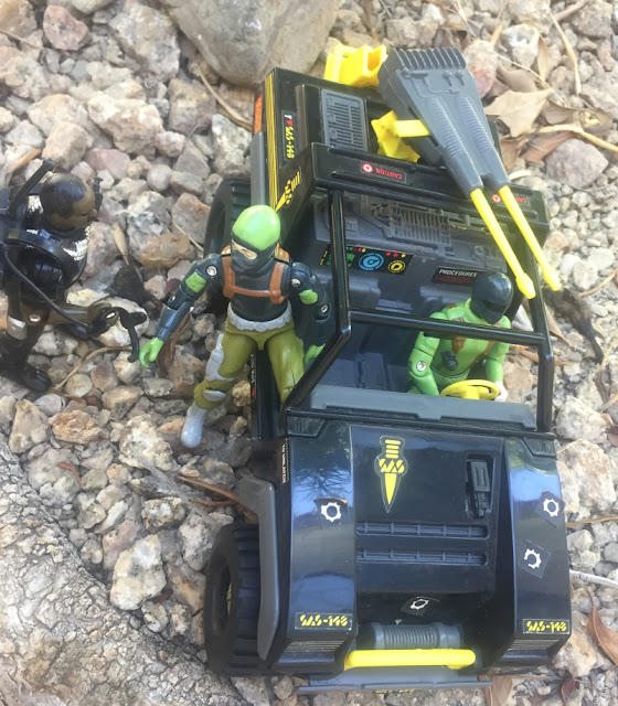 Action Force Panther Jeep, VAMP, SAS, Palitoy, 1983, Red Laser Army, Hollowpoint, Commando, Snake Eyes, Stalker, Shimik, Outlaw