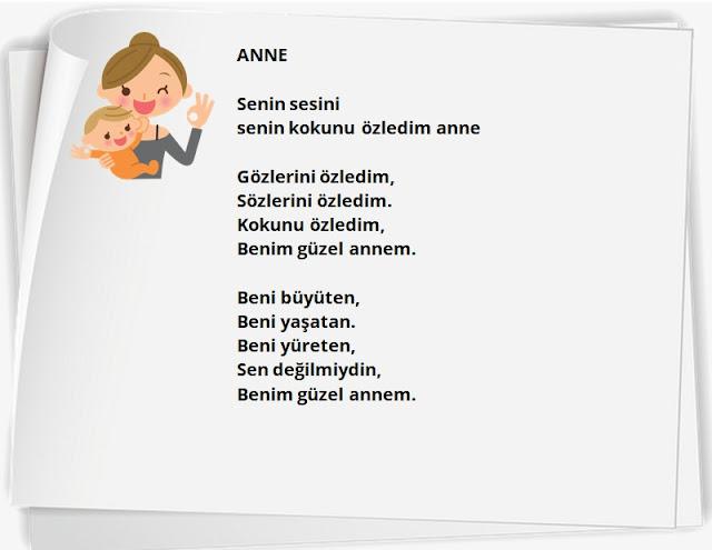 Güzel Anneler günü şiirleri