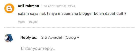 income blogger malaysia