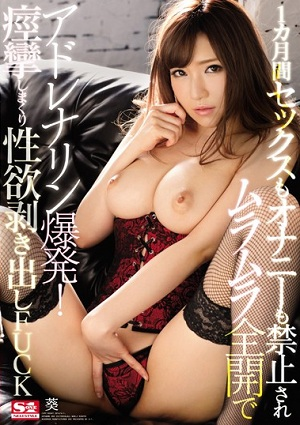 1 Month Sex Also Masturbation Is Also Prohibited Adrenaline Explosion In Horny Fully Open!Convulsions And Rolling Up Libido Bare FUCK Aoi [SNIS-707 Aoi]