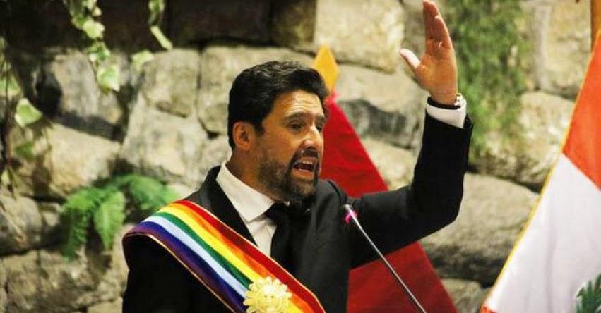 JNE aprobó suspensión del Alcalde de Cusco, Víctor Boluarte, acusado de fraude en la administración de personas jurídicas