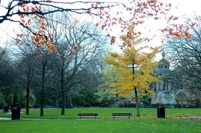 Sarphati park, Amsterdam, Fall