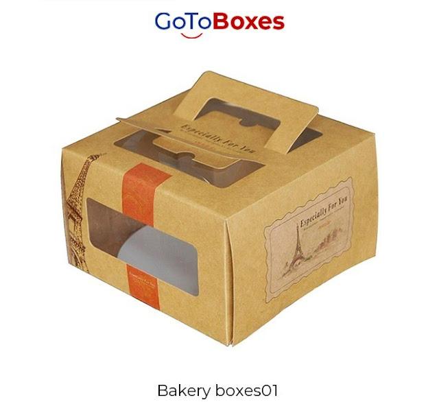 Customized Bakery Boxes