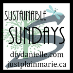 Join me on Sustainable Sundays! #sustainablesundays