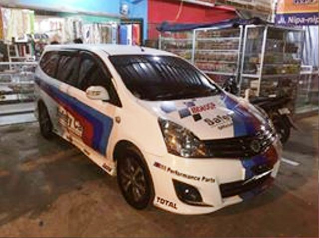 harga grand new avanza makassar vs ertiga tempat cutting sticker motor mobil di makassar: ...