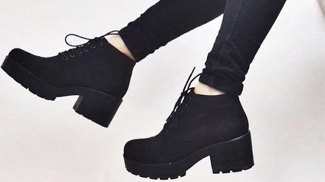 botas em alta