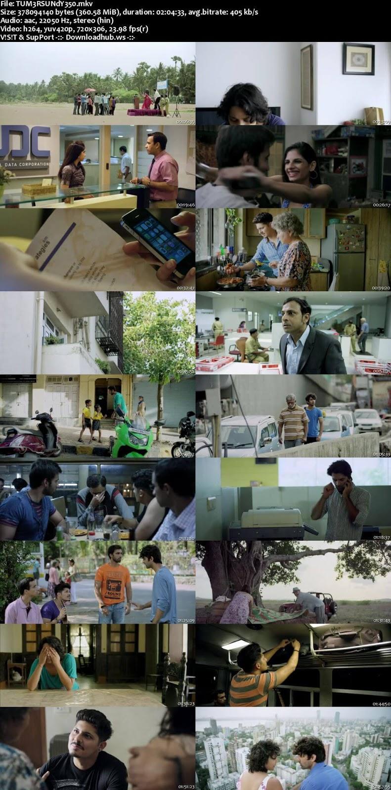 Tu Hai Mera Sunday 2017 Hindi 480p HDRip