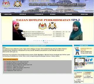 Suruhanjaya Perkhidmatan Awam Negeri Johor Kerja Kosong