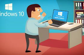 حل مشاكل تحديث ويندوز 10 وأخطاء التحميل