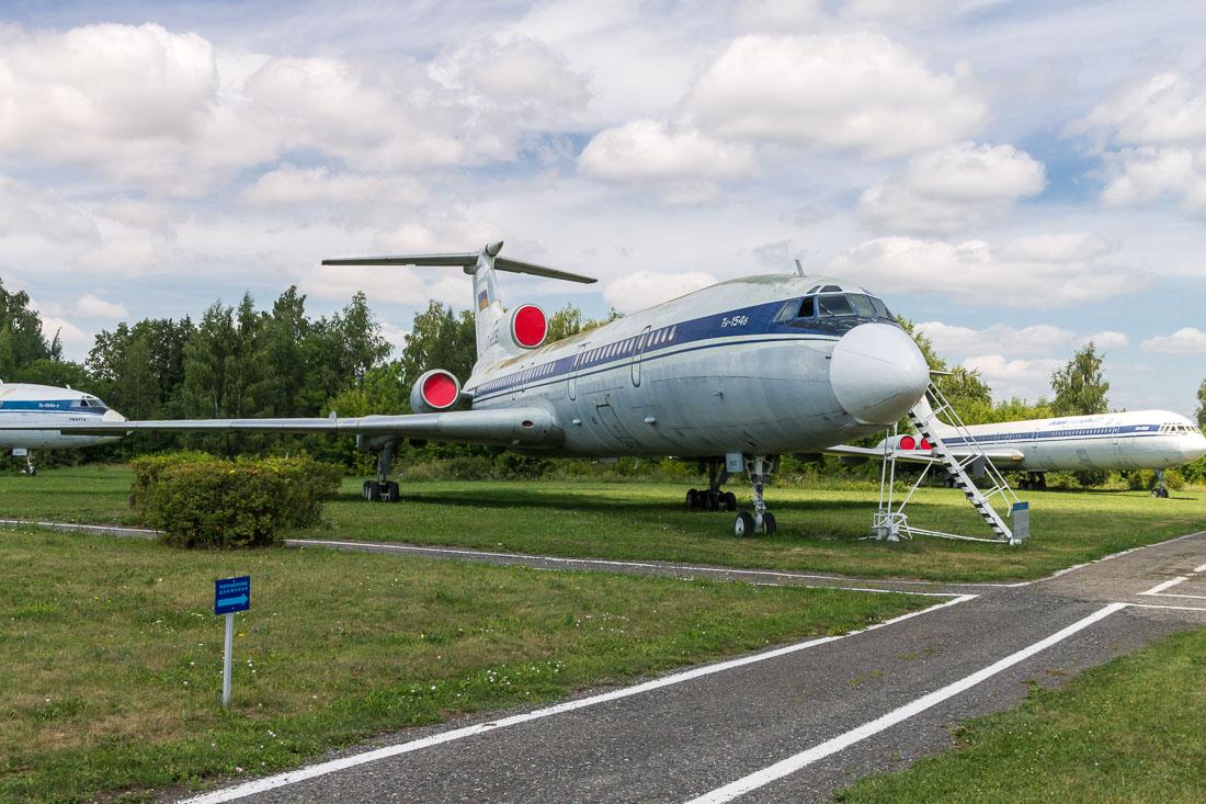 Самолёт Ту-154Б