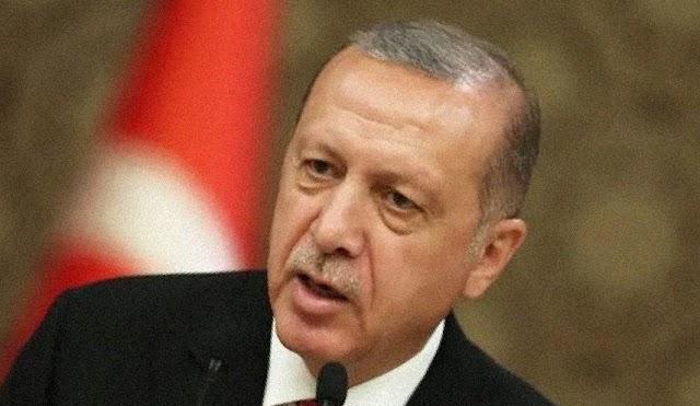 رئيس التركي لن تستطيع قوة على وجه الأرض اعتراض تركيا في هذه الحالة
